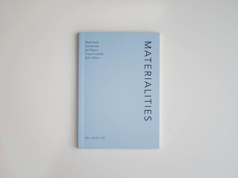 Pocket Essays #1 - Materialities