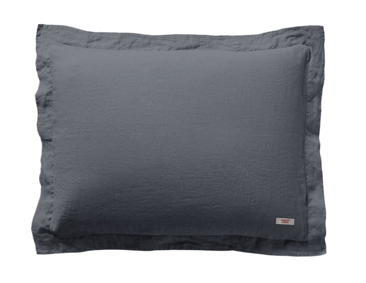 Mix&Match linen duvet cover Charcoal - Naughty Linen