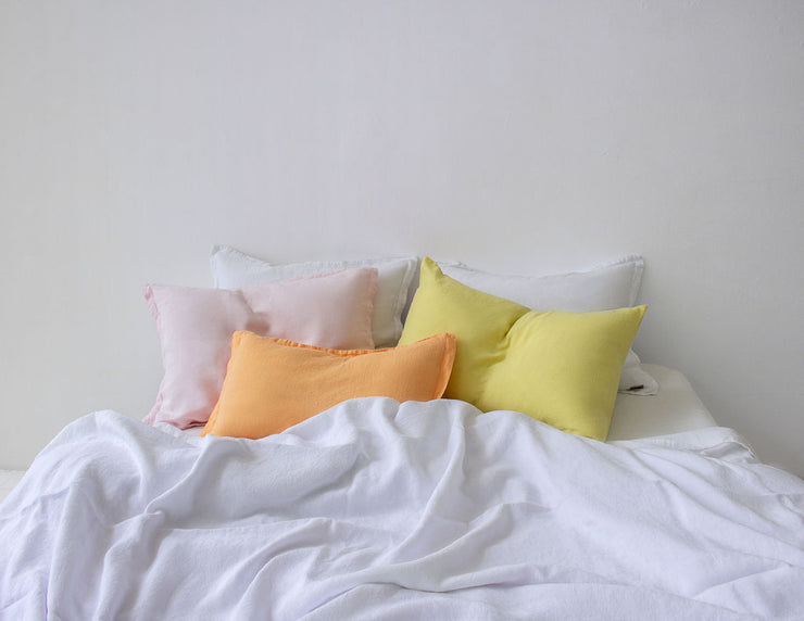 Mix&Match linen duvet cover White - Naughty Linen