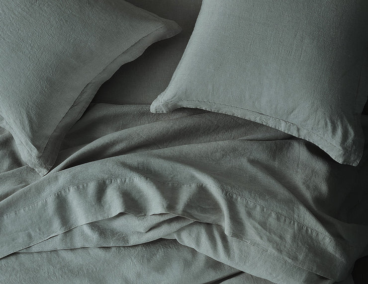 Limited Edition Mix&Match linen duvet cover Khaki - Naughty Linen