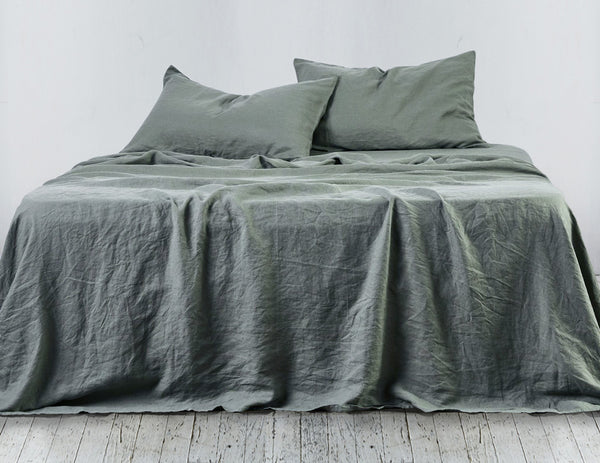 Limited Edition Mix&Match linen pillowcase Khaki
