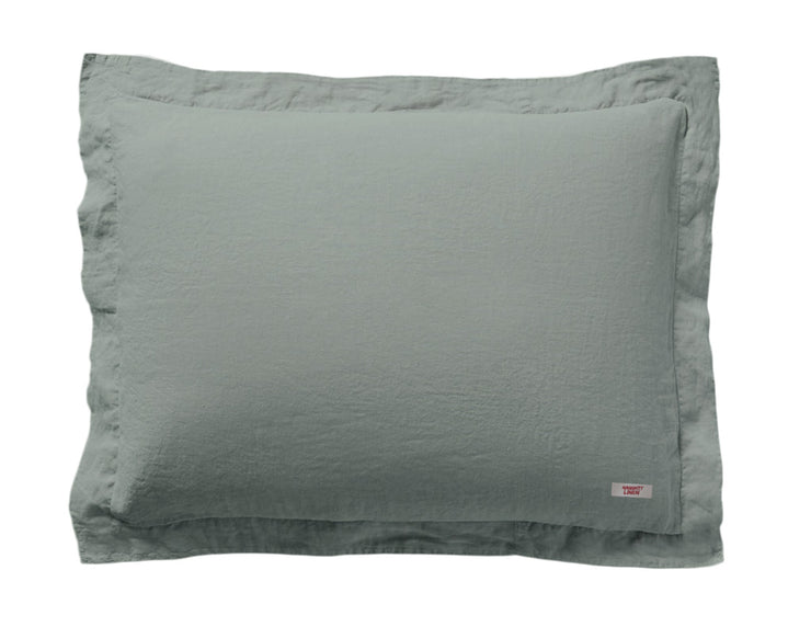 Limited Edition Mix&Match linen pillowcase Khaki - Naughty Linen