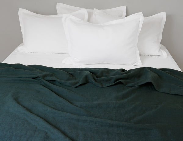 Limited Edition Mix&Match linen duvet cover Pine - Naughty Linen