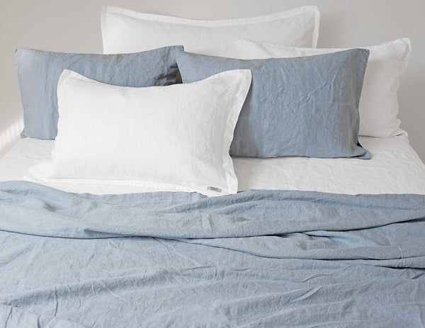 Mix&Match linen pillowcase Aqua