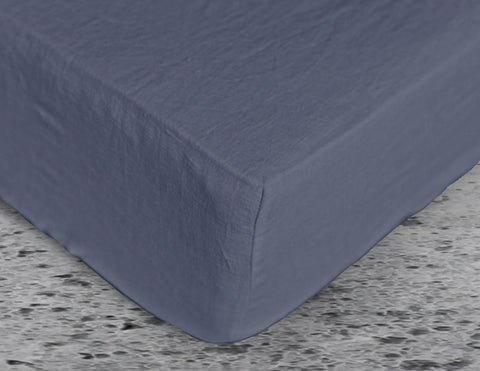 Fitted sheet Blue Dusk