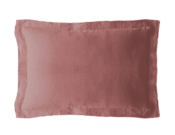 Limited Edition Mix&Match linen pillowcase Desert Rose - Naughty Linen