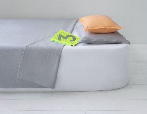 Mix&Match linen pillowcase Fog