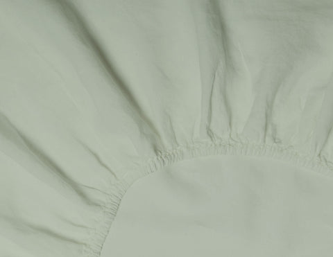 Fitted sheet Olive