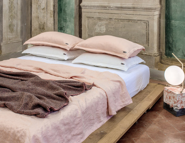 Mix&Match linen duvet cover Peach