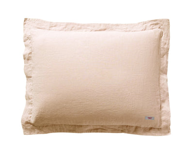 Mix&Match linen pillowcase Peach - Naughty Linen