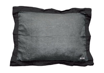 Naughty pillowcase Grey/Black - Naughty Linen