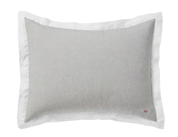 Naughty pillowcase Mixed grey/White - Naughty Linen