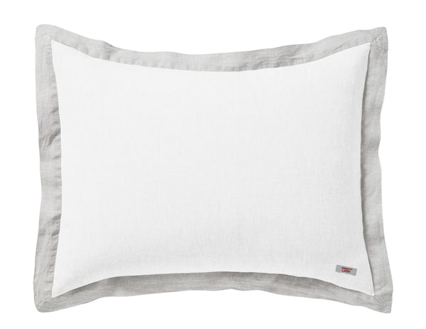 Naughty pillowcase White/Mixed grey border