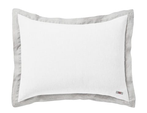 Naughty pillowcase White/Melange border