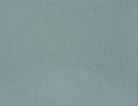 Blended double color linen pillowcase Navy/Aqua - Naughty Linen