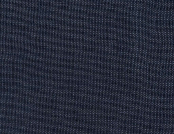 Fitted linen sheet Navy