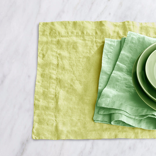 Washed linen napkin - Naughty Linen