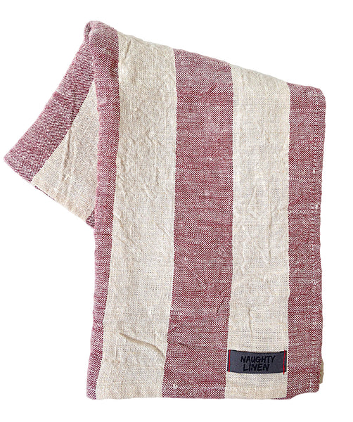 Rustic kitchen towel - Naughty Linen