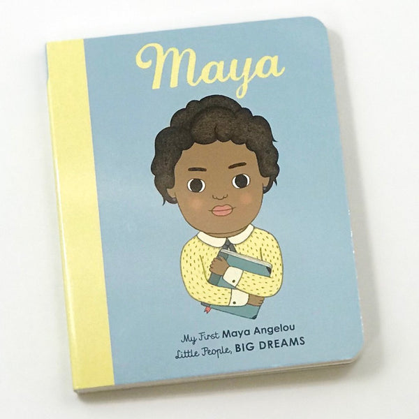 Maya Angelou 'Little People Big Dreams' Board Book