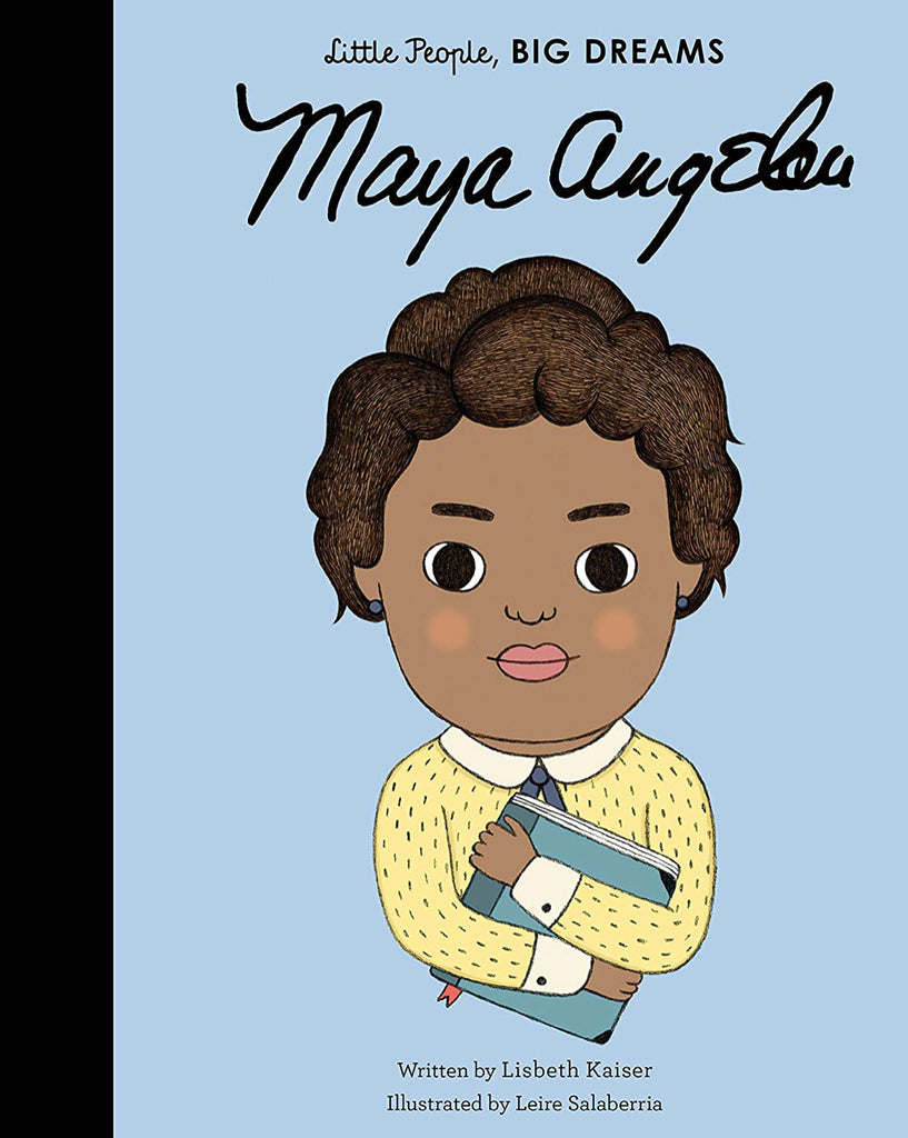 'Little People Big Dreams' Maya Angelou Book
