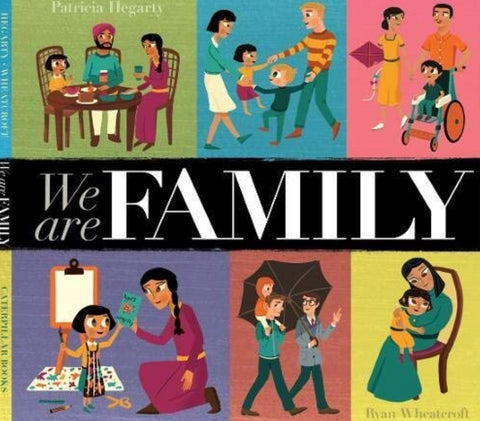 'We Are Family' Patricia Hegarty