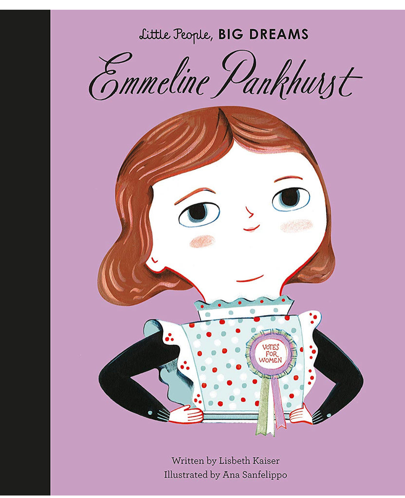 Emmeline Pankhurst 'Little People, Big Dreams' Book