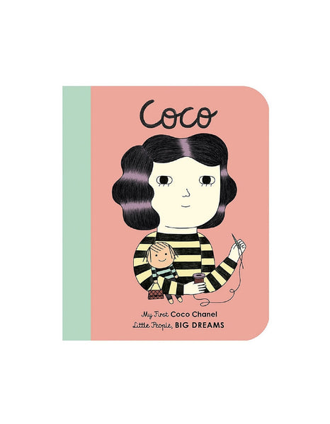 Coco Chanel 'Little People Big Dreams' Board Book