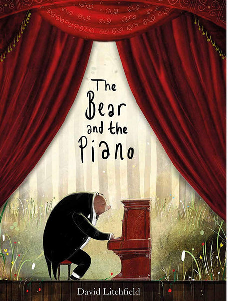 The Bear & The Piano Hardcover