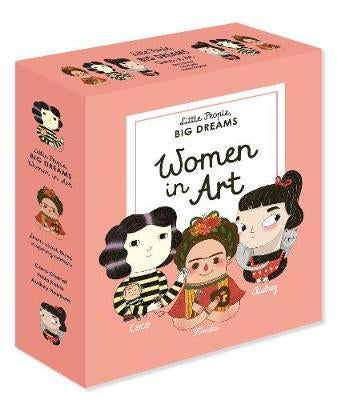 'Women in Art' Little People Big Dreams Box Set