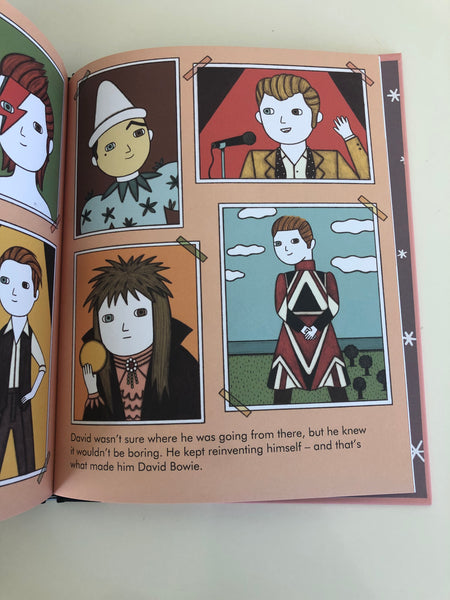 Little People Big Dreams David Bowie Book