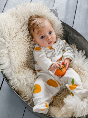 Sleepy Doe Clementine Sleepsuit