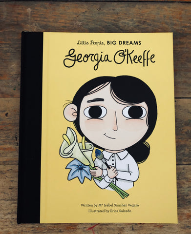 Georgia O'Keefe Little People Big Dreams Book