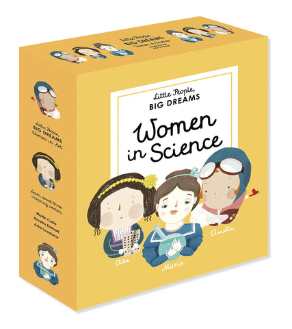 'Women in Science' Little People Big Dreams Box Set