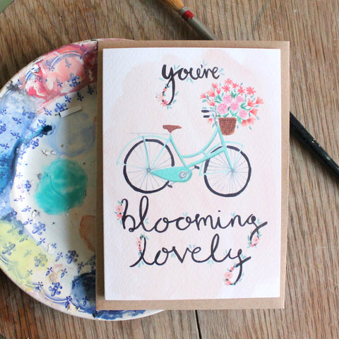 Emma Block Blooming Lovely Card
