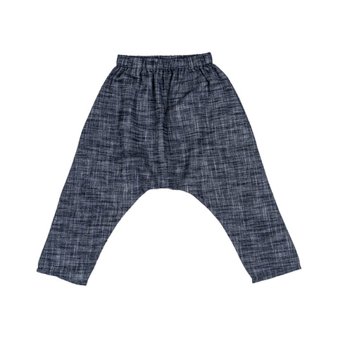 Little Cotton Clothes Indigo Chambray Trousers