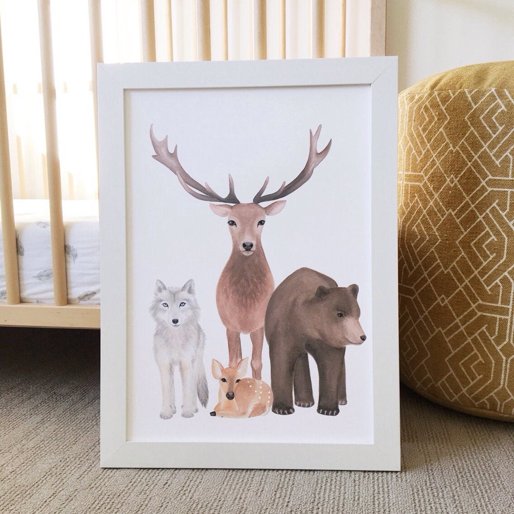 Jo Collier Designs 'Call Of The Wild' Print A5