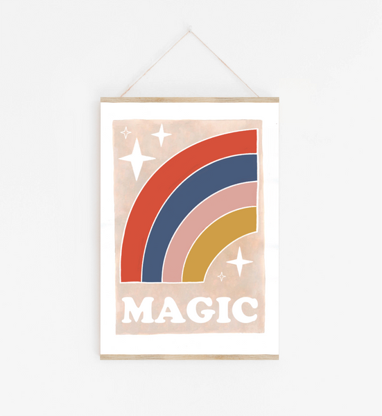 Magic Rainbow Print