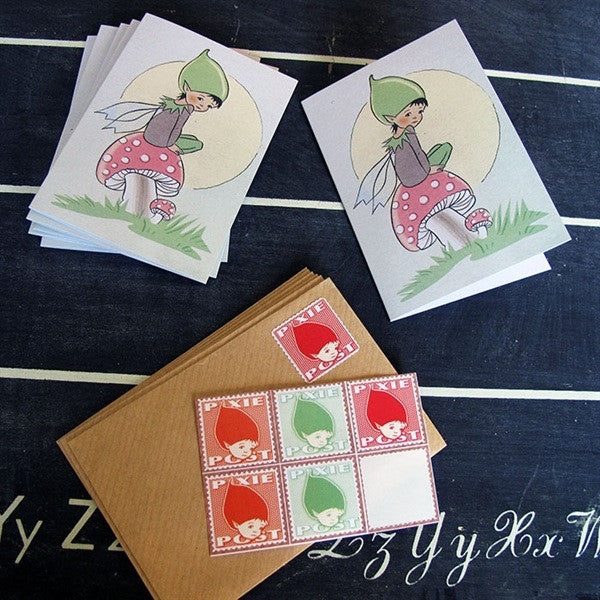 Made in Pixieland Pack of Pixie Cards