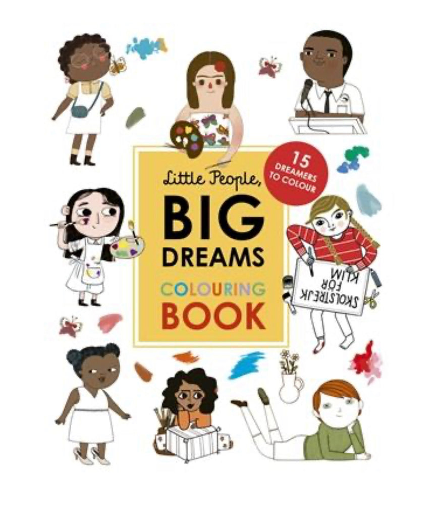 Little People, Big Dreams - Colouring Book