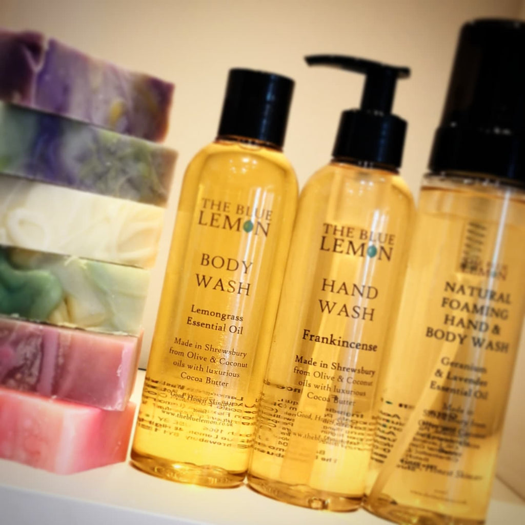 Liquid soaps or Solid bars? Why handmade is still best.