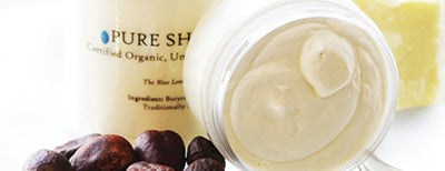 The Blue Lemon Pure Shea Butter