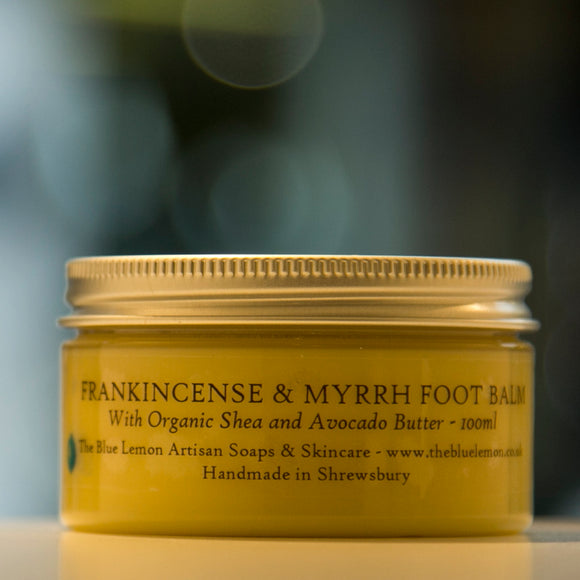 Frankincense & Myrrh Intensive Foot Balm