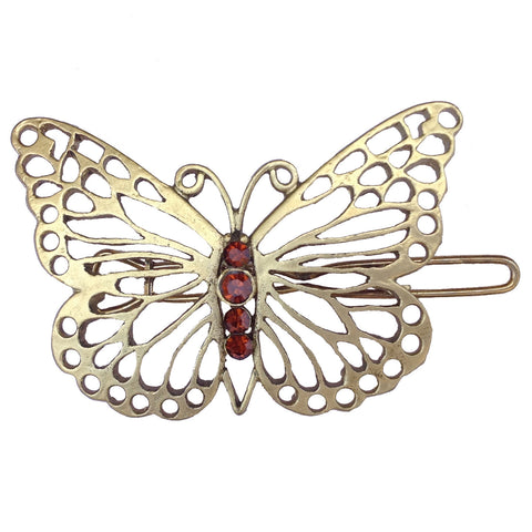 B-Fashionable Grill Butterfly Wireclasp - 1