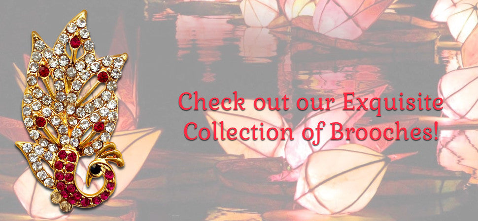 Exquisite Collection of Brooches