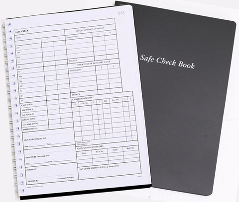 Safe Check Book