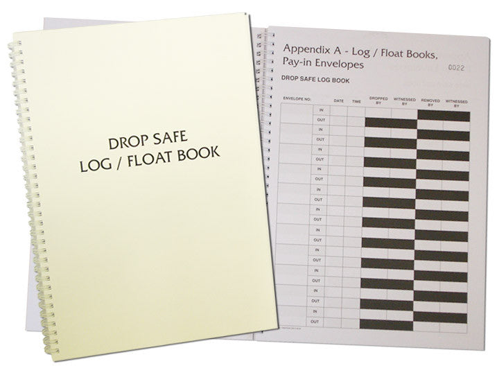 Drop Safe Log/Float Book