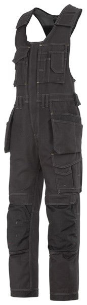 Snickers 0214 Bodybroek met holsterpockets - Canvas+- Zwart