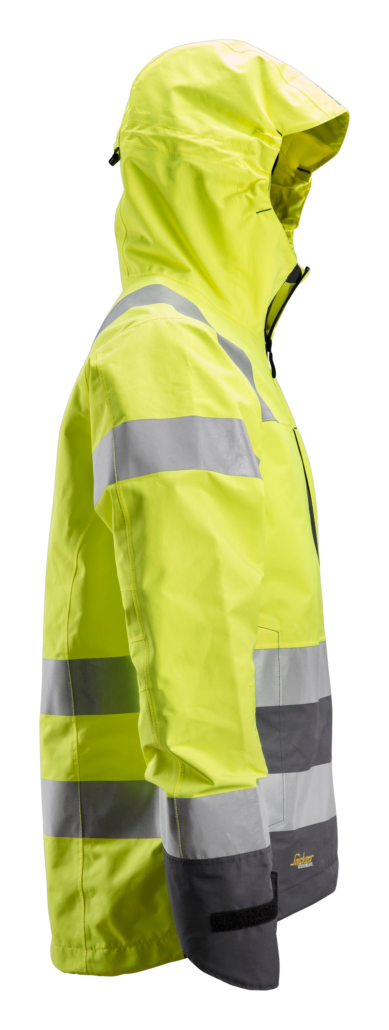 Snickers 1330 AllroundWork, High-Vis Waterproof Shell Jack Klasse 3 - Snickers Werkkledij