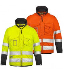 Snickers 1633 High-Vis Jacket - Class 3 - Snickers Werkkledij