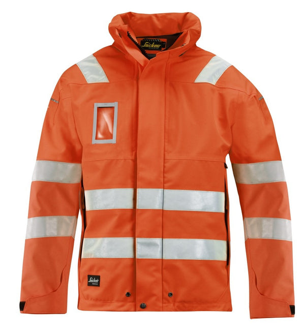 Snickers 1683 GORE -TEX© Shell Jack High Visibility - Klasse 3